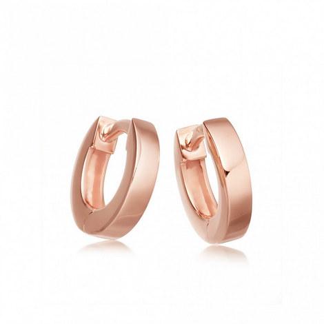 Stilla Rose Gold Hoop Earrings, ${color}
