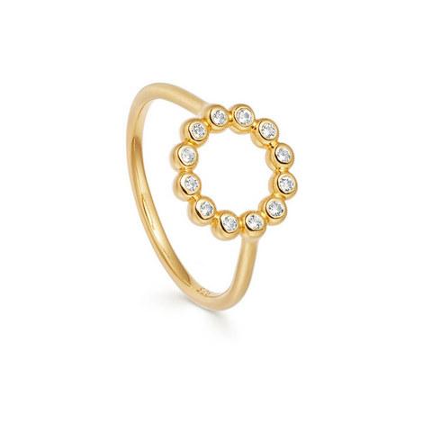 Stilla Arc Sapphire Beaded Ring, ${color}