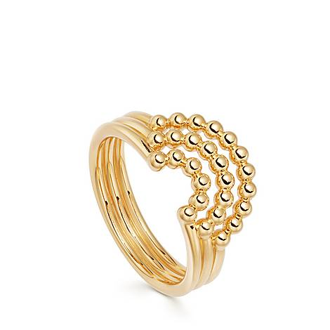 Stilla Arc Curve Ring, ${color}