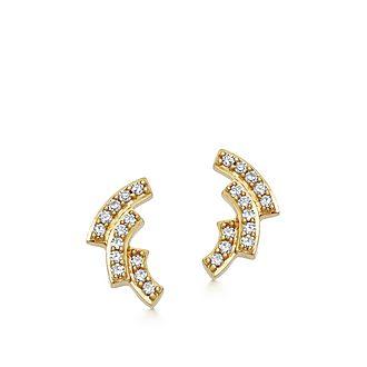 Mini Icon Scala Stud Earrings