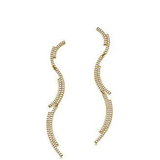 Large Icon Scala Drop Earrings