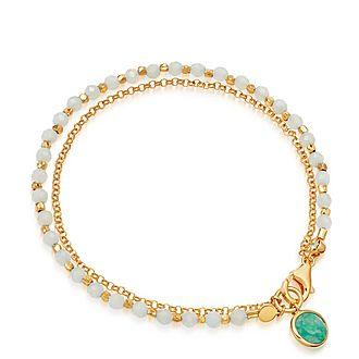 Amazonite Biography Bracelet