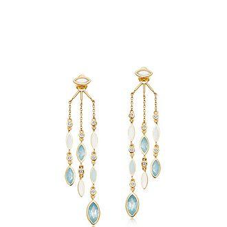 Paloma Fallen Petal Chandelier Earrings