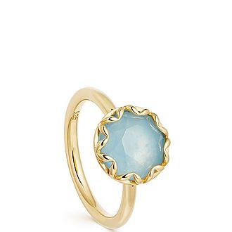 Paloma Aqua Quartz Ring