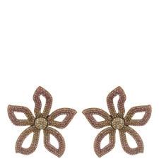 Primina Flower Drop Earrings