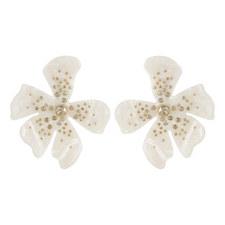 Perla Flower Drop Earrings