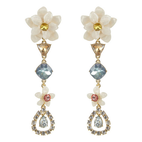Evelina Drop Earrings, ${color}