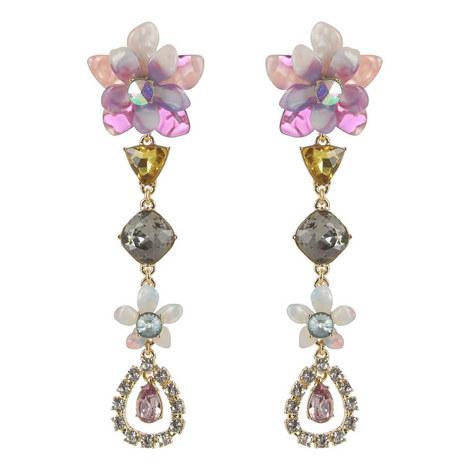 Evelina Drop Earrings, ${color}