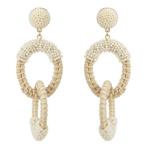 Santos Hoop Earrings, ${color}