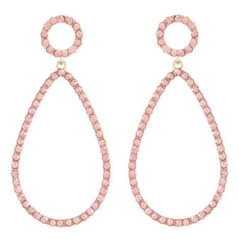 Mini Genevieve Hoop Earrings, ${color}