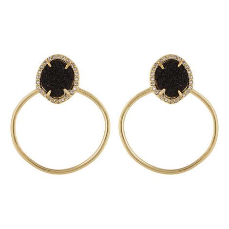 Lutana Hoop Earrings, ${color}