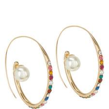 Delisa Hoop Earrings