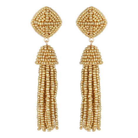 Rubina Tassel Earrings , ${color}