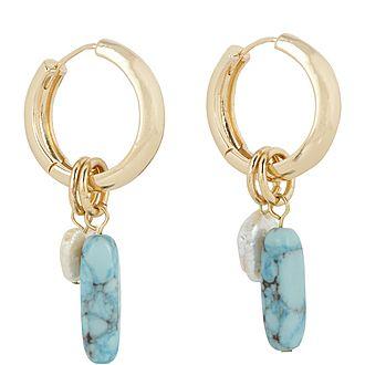 Daisy Huggie Earrings