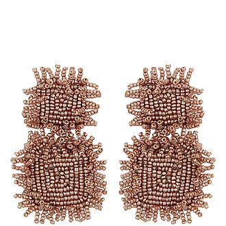 Square Rianne Drop Earrings