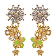 Crystal Jewel Drop Earrings