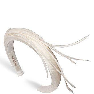 Candace Feather Headband