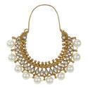 Amrita Pearl Hoop Earrings, ${color}