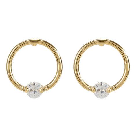 City Circular Earrings, ${color}