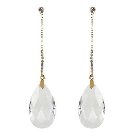 Lure Crystal Earrings, ${color}