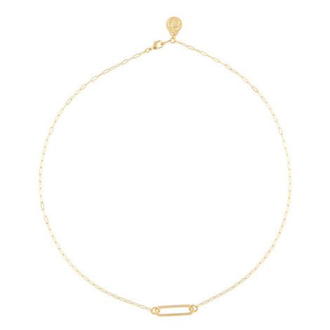 Slink Oval Necklace, ${color}