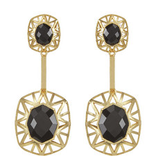 Double Drop Cage Earrings
