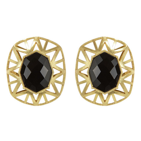 Cage Earrings, ${color}