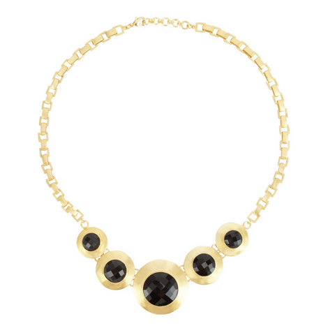 Five-Stone Collar Necklace, ${color}