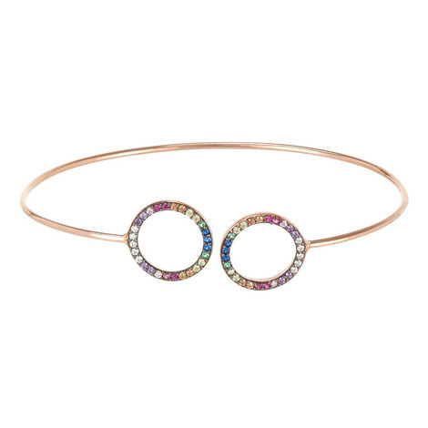 Open Circle Bangle, ${color}