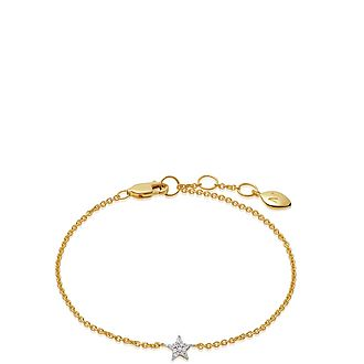 Paved Star Bracelet
