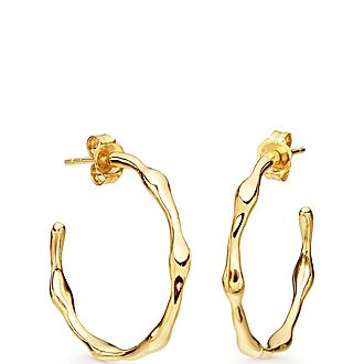 Missom Earrings Molten Hoops