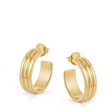Ancient Chandelier Hoop Earrings