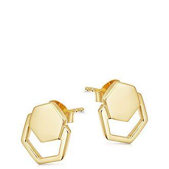 Rhea Cage Stud Earrings