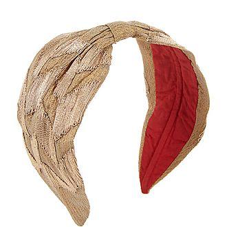 Embroidered Wrap Headband