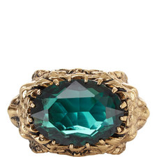 Emerald Encrusted Ring
