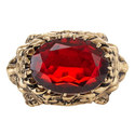Ruby Encrusted Ring, ${color}