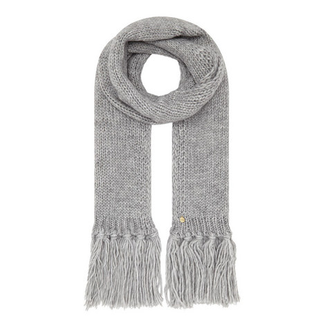 Tasselled Fringe Scarf , ${color}