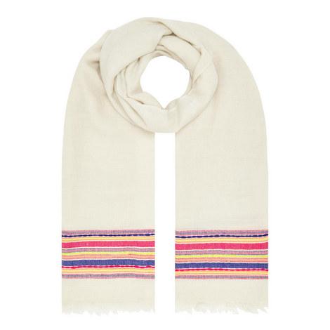Bold Stripe Pashmina , ${color}