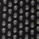 Upside Down Skull Scarf, ${color}