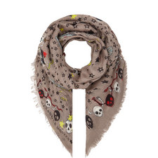 Party Skull Scarf