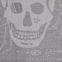 Skull Print Wool Scarf, ${color}