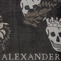Worn Away Skull Scarf, ${color}