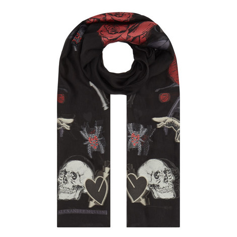 Thorn In My Heart Scarf , ${color}