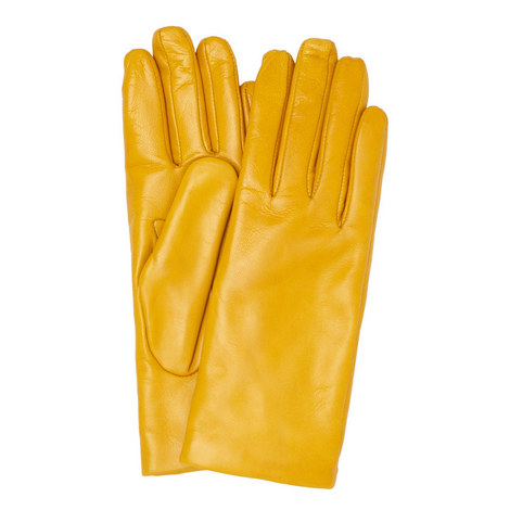 Giallo Leather Gloves , ${color}