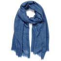 Crystal Wrap Cashmere Scarf, ${color}