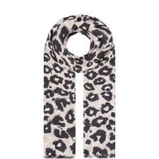 Isla Leopard Print Scarf