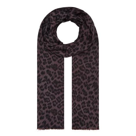 Florence Leopard Scarf, ${color}