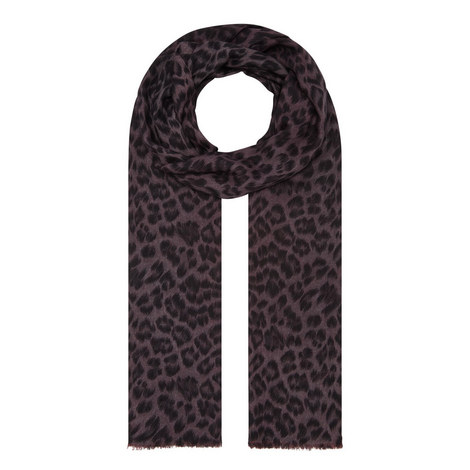 Florence Leopard Scarf, ${color}