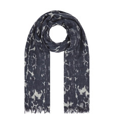 Chloe Printed Cashmere Scarf