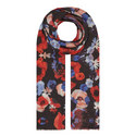 Poppy Print Scarf, ${color}